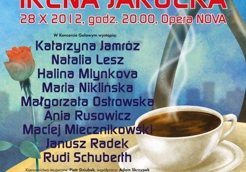 """Festiwal Twórczości Niezapomnianych Artystów Polskich """"Pejzaż bez Ciebie"""" – IRENA JAROCKA, Bydgoszcz 2012"""